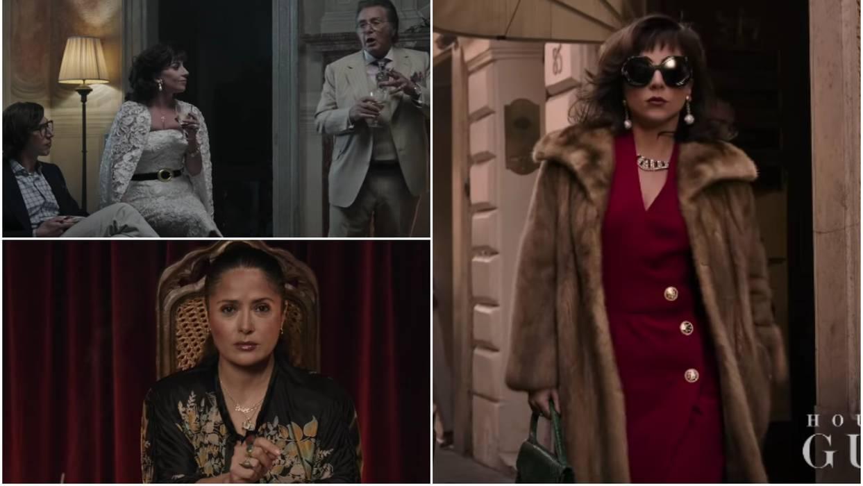Погледнете го трејлерот од филмот за ЖИВОТОТ НА ГУЧИ: Главните улоги ги толкуваат Лејди Гага, Ал Пачино и Салма Хајек